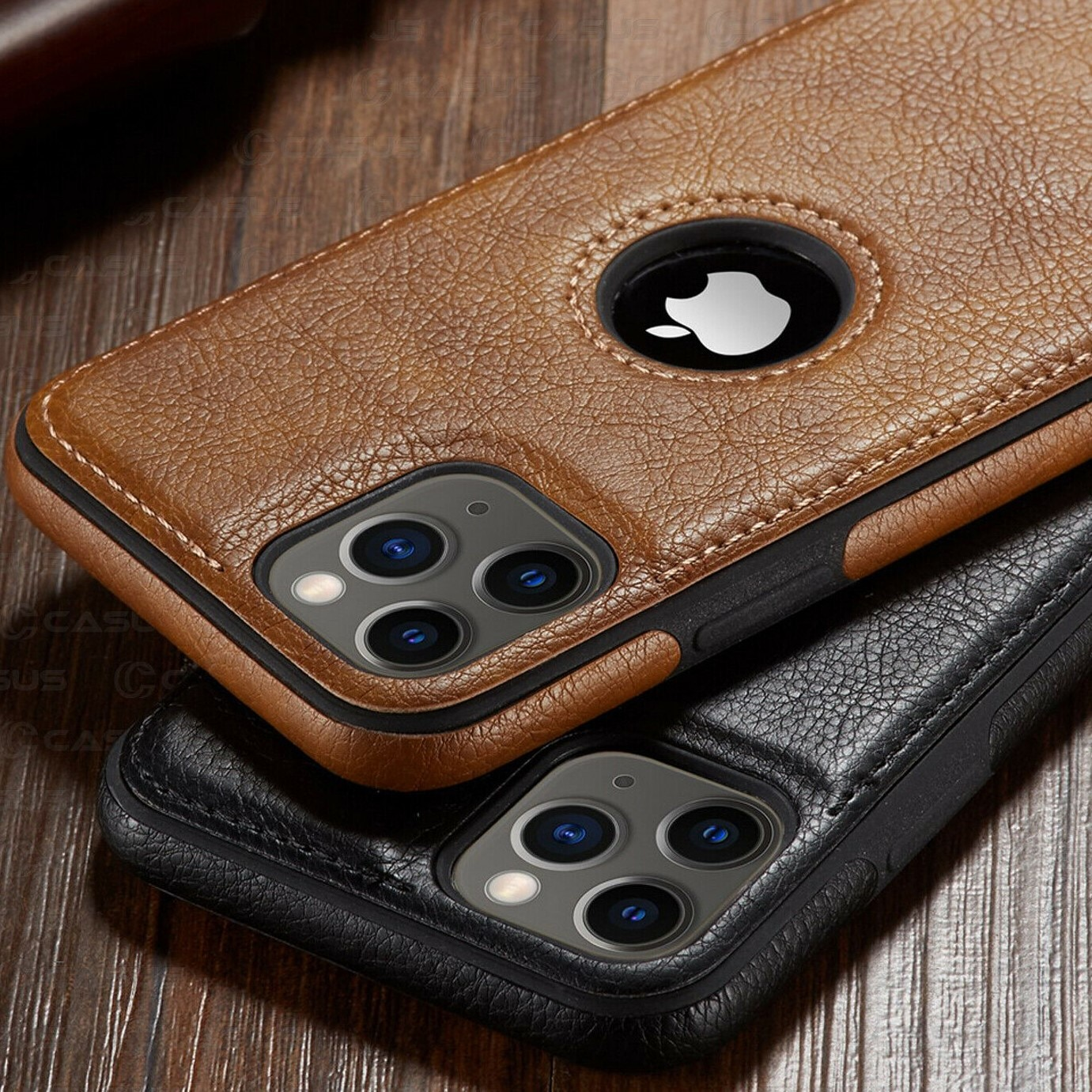 For iPhone 11 11 Pro 11 Pro Max Case Luxury Business Leather Stitching Case Cover for iphone XS Max