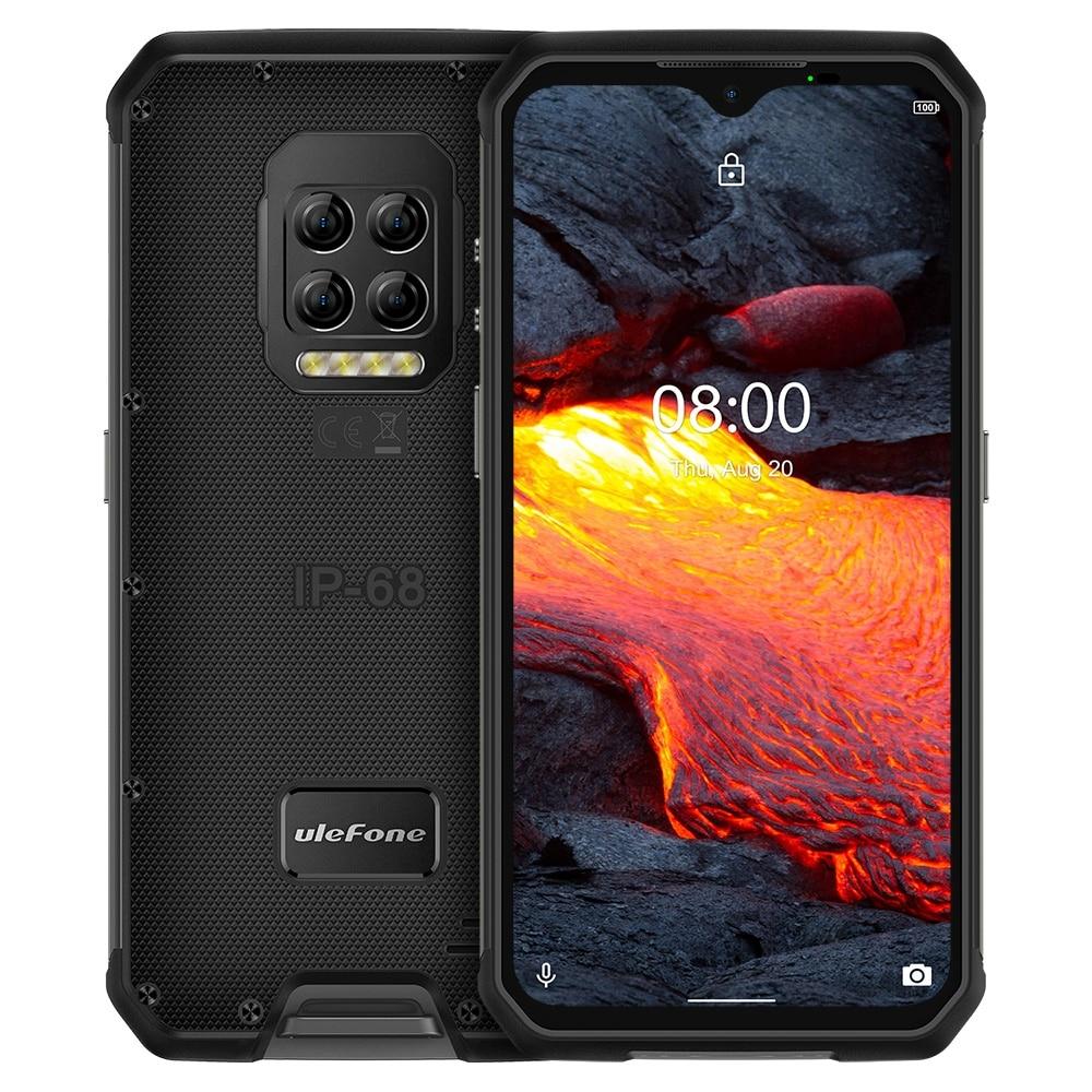Перейти на Алиэкспресс и купить Ulefone Power 9E прочный мобильный телефон Android 10 Helio P90 8 ГБ + 128 ГБ 2,4G/5G Wi-Fi IP68 64MP 5 камеры глобальная версия смартфона