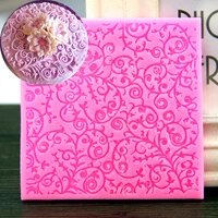 1pc leaf petals lace silicone cake mold fondant mold cake decorating tools sugar craft chocolate mould cake mold ftm643