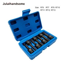 "Julaihandsome 7PC 3/8"" Impact Socket Set  Wrench  Hand Tool Set CR-MO Steel RT6 RT7 RT8 RT10 RT11 RT12 RT13"