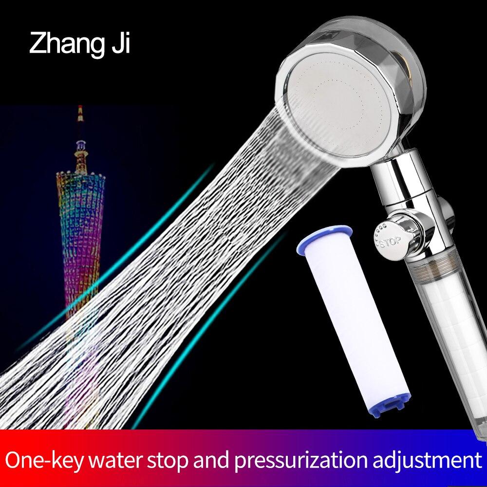 zhangji-ручной-душ-с-пропеллером-с-функцией-экономии-воды-под-высоким-давлением-Премиум-Турбокомпрессор-для-ванной-комнаты-Аксессуары-для-душ