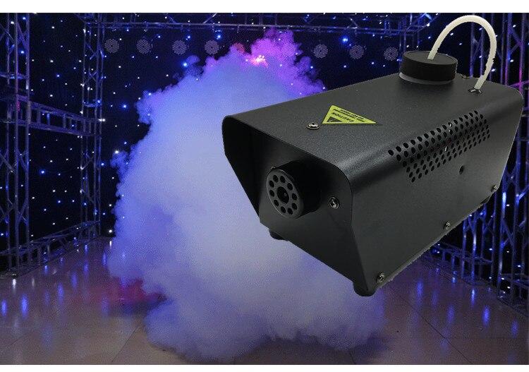 ¡Gran oferta! mini máquina de humo de disco de dj con control remoto inalámbrico de 400W, máquina de humo para fiestas