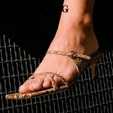 2020 nouveau Serpentine Carft femmes pantoufles bout carré en cuir véritable femme sandales de luxe Chic été Mules par gife far girfriends