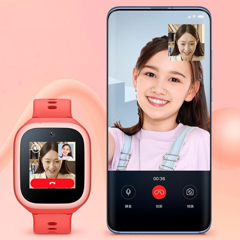 Xiaomi Mi Rabbit Children's Smart Watch 4C Student Phone Clock Male Multifunctional Al Positioning Watch Female 4G Video Call