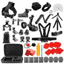 Kit de accesorios Yicoe para Gopro Hero 8 7 6 5 negro Osmo acción 4 3 sesión Set para Xiaoyi 4K SJCAM EKEN Mijia y otras cámaras