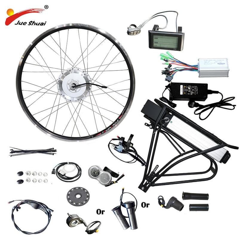 "BAFANG Hub Motor Electric Bike Conversion Kit 36V 48V 250W 350W 500W Front Motor Wheel for 26"" 27.5 700C 28"" Bike Electric BMP BAFANG Motor"