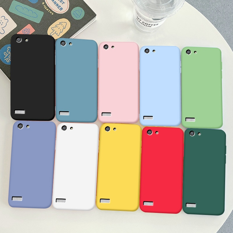 For OPPO NEO 7 Case Soft TPU Silicone Case For OPPO NEO 7 Simple Macaron Colors Candy  Black Simple
