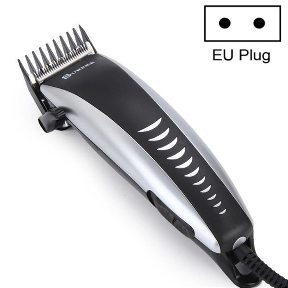 Electric Hair Clipper Kit Wired Hair Clipper Beard Trimmer Haircut Low Noise Adjustable Blade For Ba