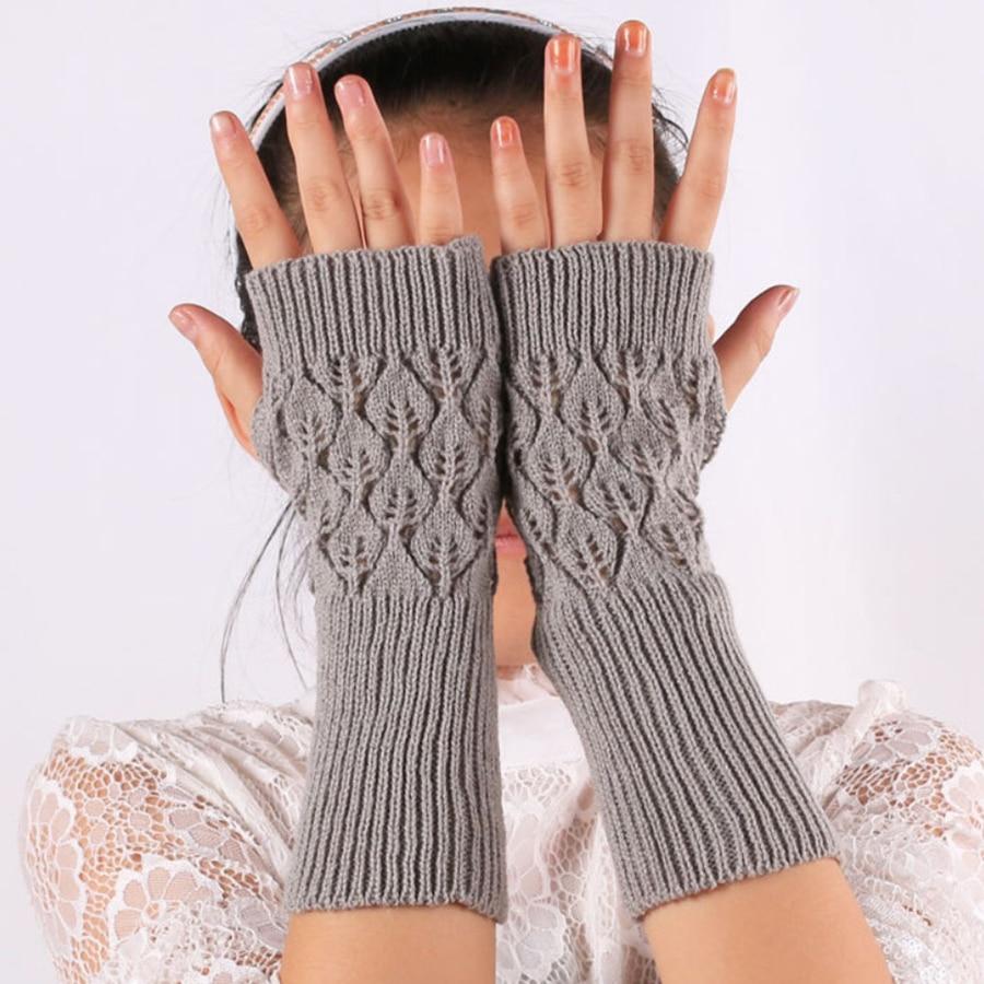 Фото - Women Gloves Stylish Hand Warmer Winter Gloves Women Arm Crochet Knitting Faux Mitten Warm Fingerless arm warmers Gloves wool mittens warm fingerless gloves black hand warmer winter knitting gloves fashion gloves women arm wrist sleeve hand warmer