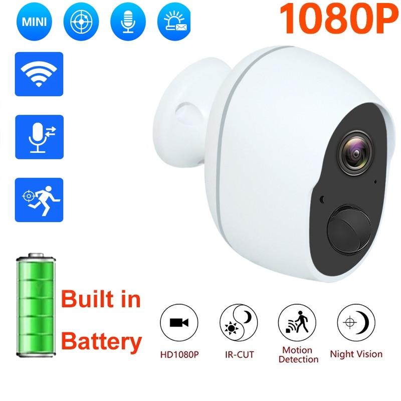 2021 1080P Indoor Battery Wifi Camera IP Battery Security Camera Wireless Battery Camera Surveillance Outdoor Waterproof Camera