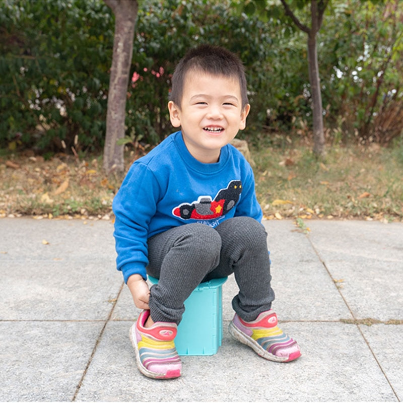 Portable baby toilet Baby bedpan Children's toilet training chair Folding bedpan Outdoor travel supplies Car bedpan