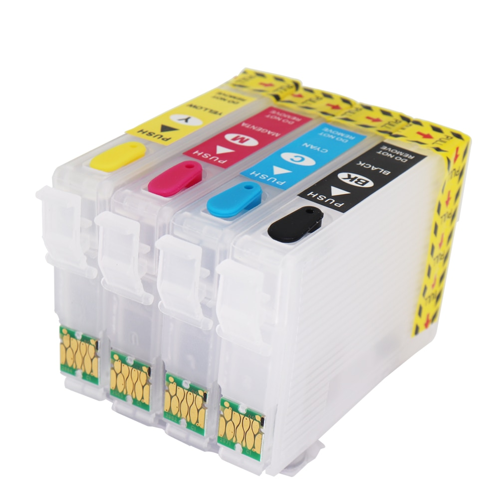 Refillable Ink Cartridge T1621 T1631 for Epson Workforce WF-2010W WF-2510WF WF-2520NF WF-2530NF WF-2540NF WF-2630WF WF-2650DWF