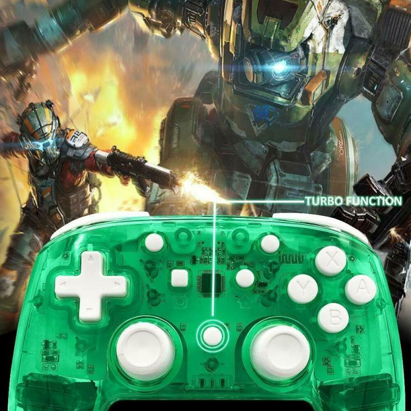 Bluetooth inalámbrico controlador Pro recargable Gamepad para Nintendo interruptor/WINDOWS PC interruptor de mando de juegos Nintendo Gamepad