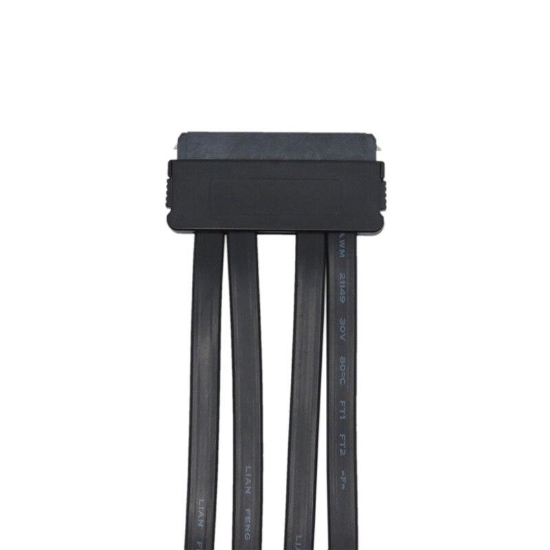 SAS 32 pin zu SATA Breakout Adapter Konverter Kabel, Motherboard SFF-8484 controller zu 4 SATA Stecker, SAS Host zu SATA Ziel