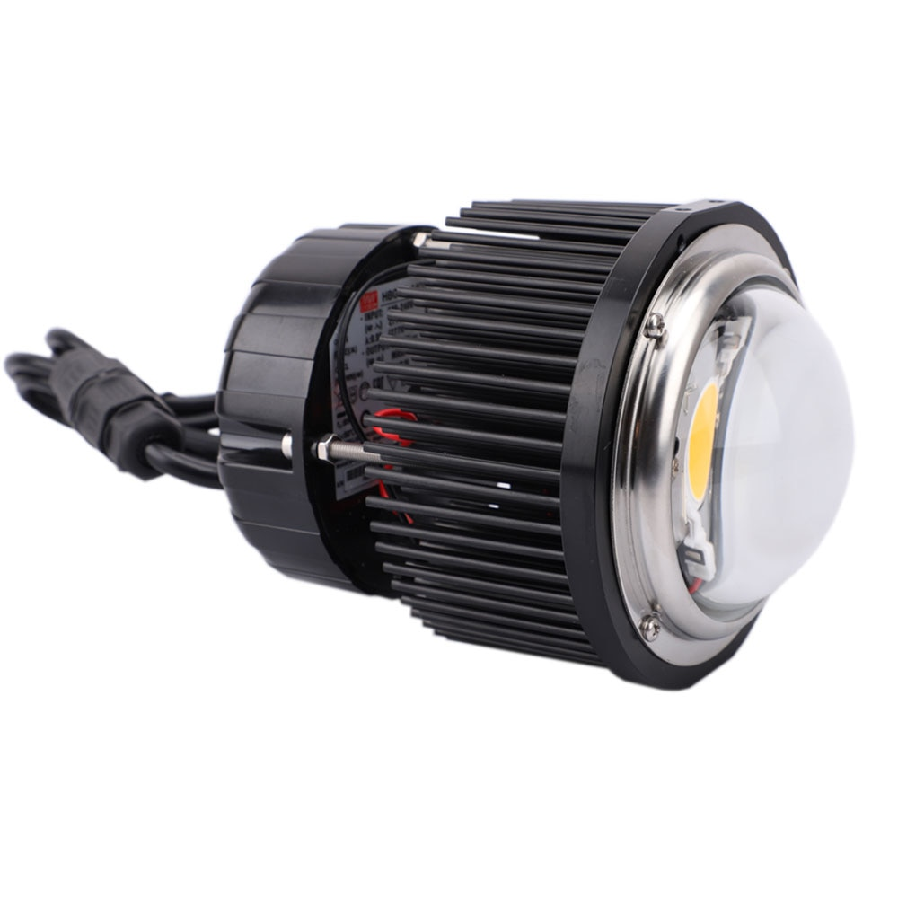 Led Lights Lamps CXB3590 Full Spectrum 60w Cxb3590 3000/3500/ 5000/6500K 90 Degree with Glass Lens of HBG-60-1400 and D100mm Cob enlarge