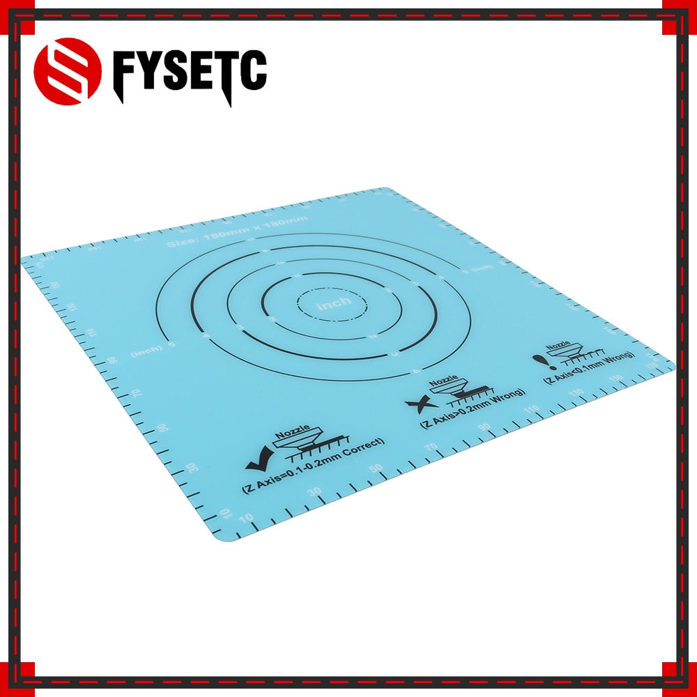 5 piezas 180x180mm Frosted caliente cama pegatina construir hoja calor superficie pegatina construir placa para SOOWAY SW-200 mini S200 3D impresora