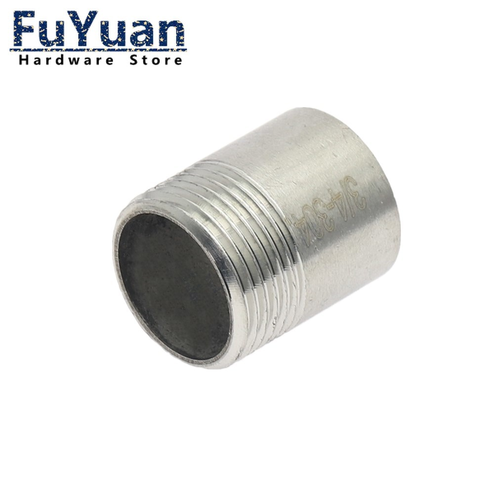 Фото - 1pcs SS 304 Stainless Steel Fittings 1/4 3/8 1/2 3/4 1 1-1/4 1-1/2 2 Male Threaded Water connection Adapter water connection adpater 1 8 1 4 3 8 1 2 3 4 1 1 1 4 1 1 2 female threaded pipe fittings stainless steel ss304