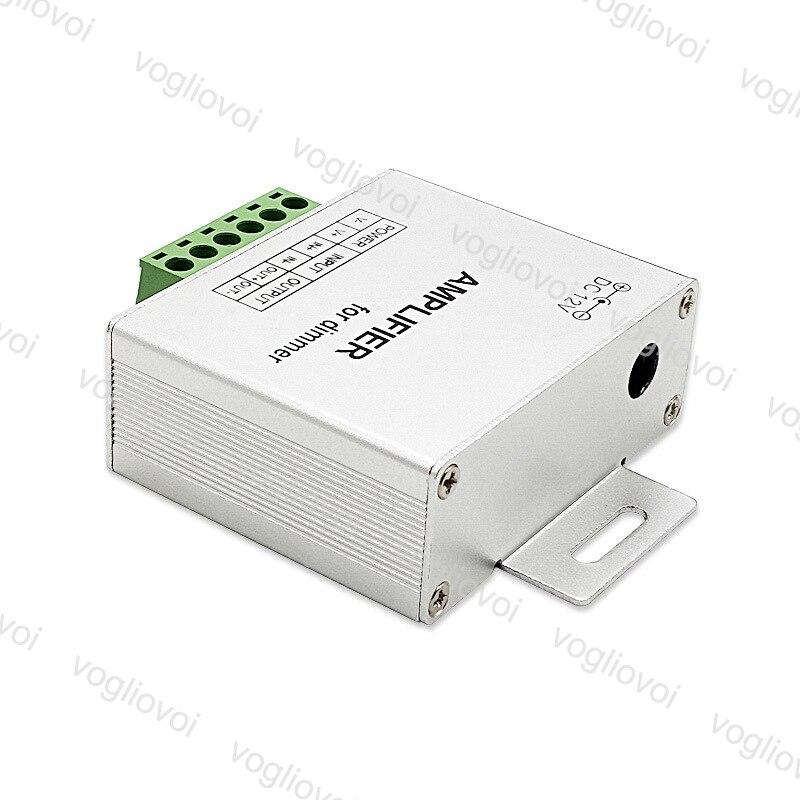 Atenuadores Vogliovoi LED amplificador de un solo Color DC12V entrada 24A 4 canales de salida LED tira de potencia repetidor consola controlador