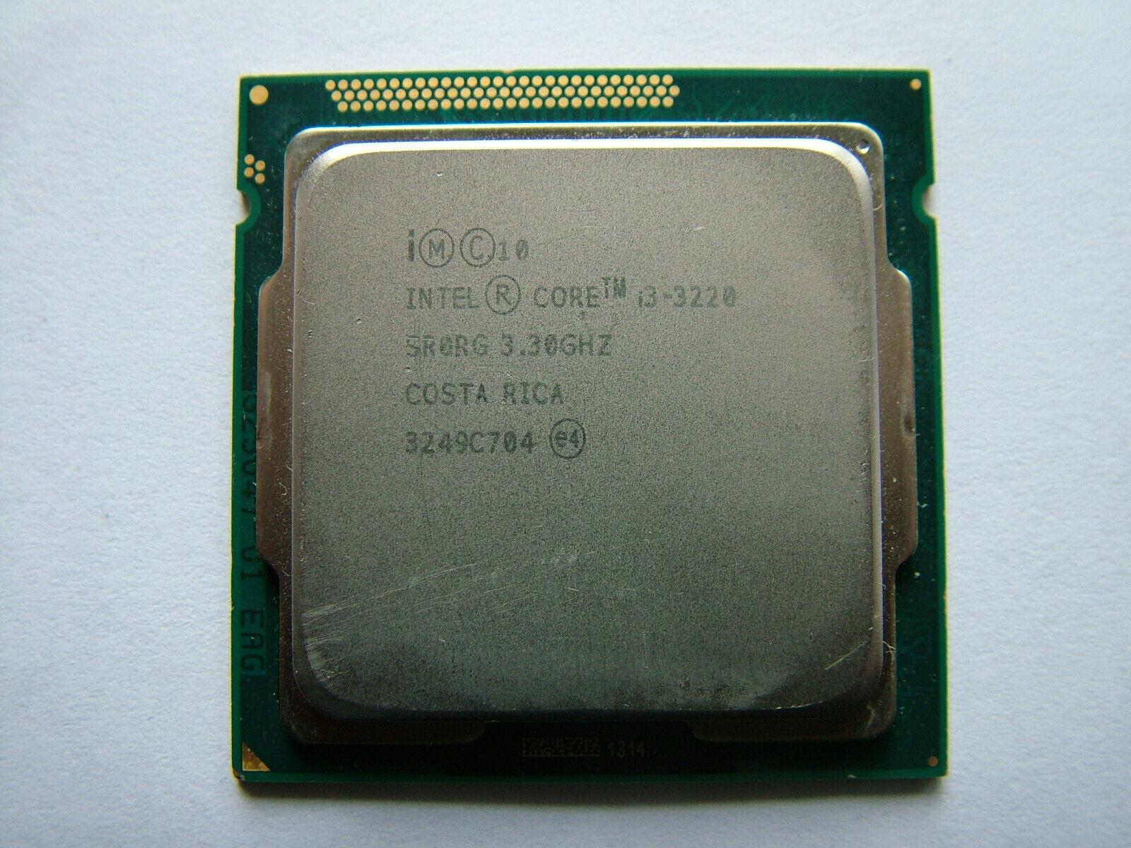 Intel Core i3 3220 2x3,3 GHz / 5GT/s / LGA 1155 / Prozessor