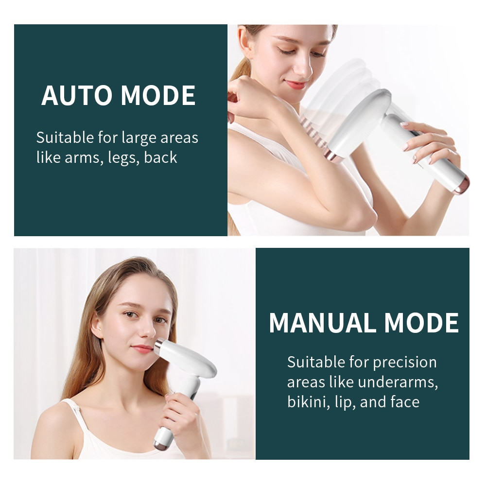 Permanent Hair Removal Machine Professional IPL Laser Epilator For Women Painless Body Electric Depilador A Laser 990000 Flashes enlarge