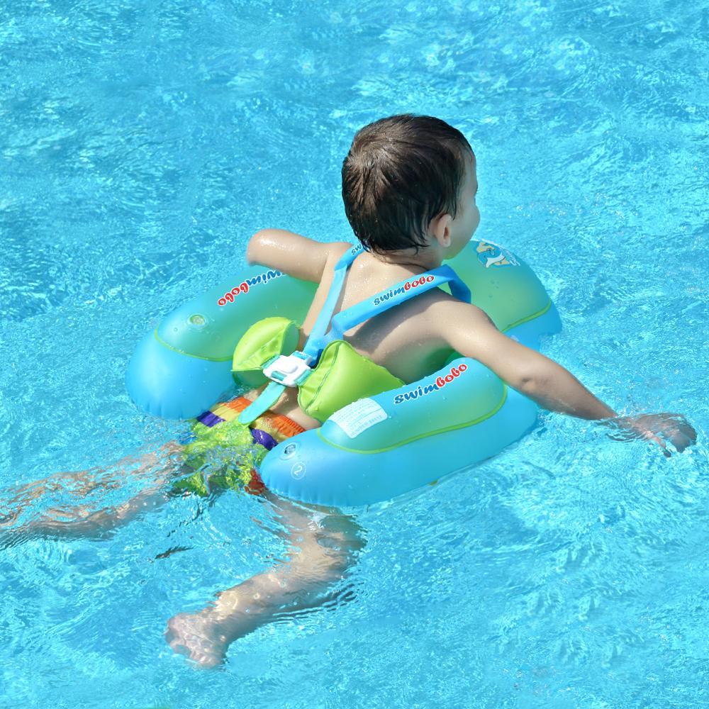 Anillo de natación para bebé recién nacido, flotador inflable para niños, accesorios para piscina, círculo infantil, balsa inflable, juguete para niños