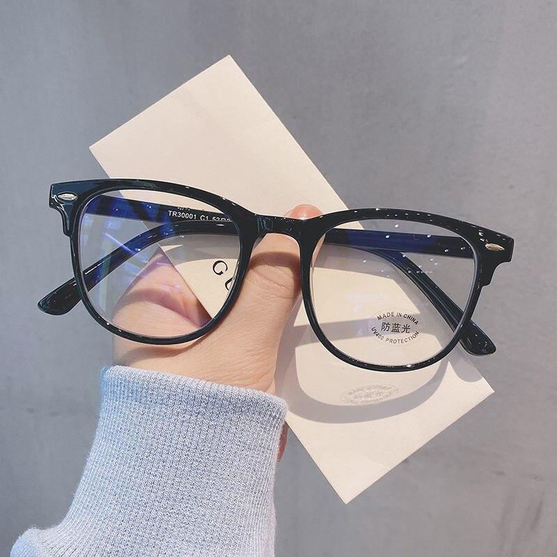 Anti Blue light Glasses Frame Women Men Light Round Eyewear Blocking Optical