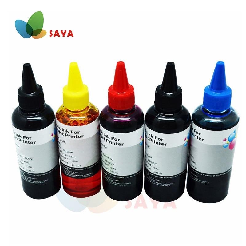 500ml PGI450 CLI451 CISS refill cartridge Dye Ink For Canon PIXMA MG5440 IP7240 MX924 MG5540 MG5640 MG6640 printer