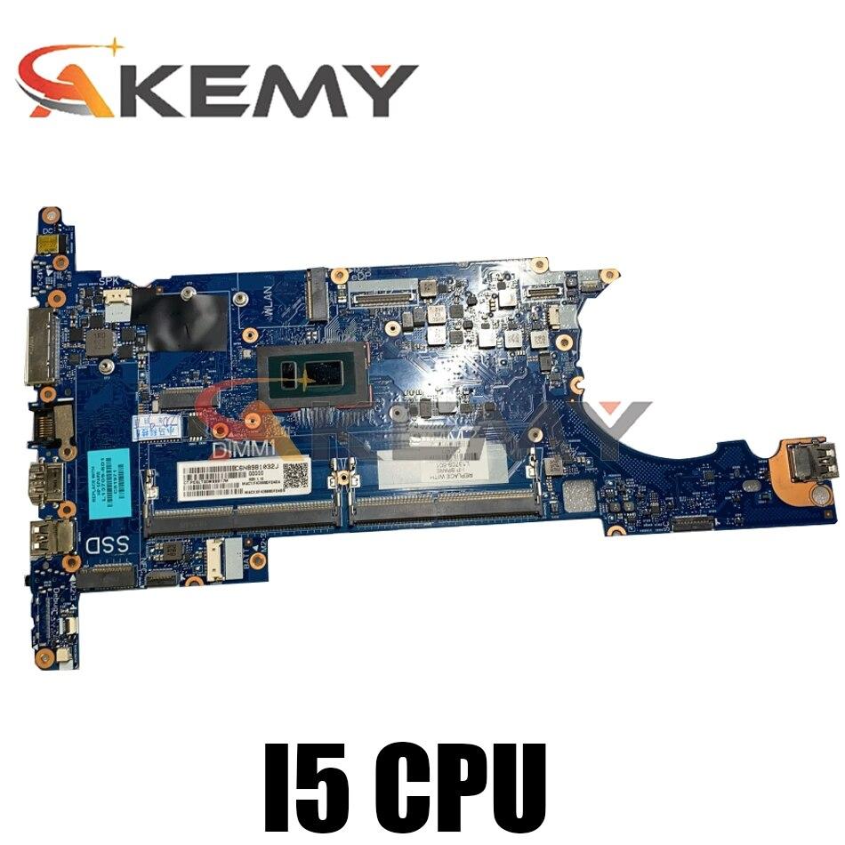 Akemy ل HP EliteBook 830 836 G5 المحمول اللوحة 6050A2930901-MB-A01 I5 8250U DDR4 L13709-601 اختبار موافق سريع السفينة