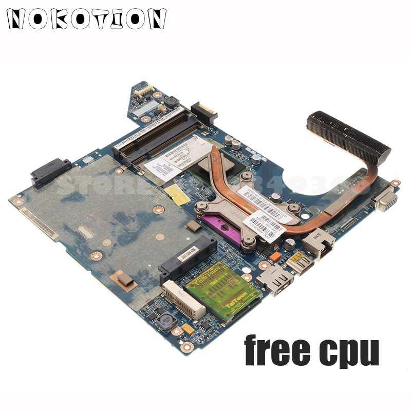 NOKOTION 577511-001 519099-001 LA-4101P ل HP CQ40 اللوحة وحدة المعالجة المركزية + غرفة التبريد صالح ل LA-4103P LA-4111P LA-4112P LA-4117P