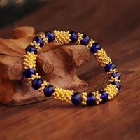 the best selling charm crystal bracelet color crystal hand string string beads elegant student jewelry gifts