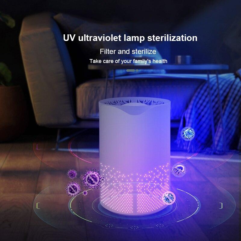 Ультрафиолетовый бытовой очиститель воздуха, бытовой портативный USB-стерилизатор воздуха для удаления формальдегида