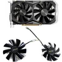 new 2pcs gaa8s2u ga92s2h 100mm 87mm gtx1070ti mini cooler fan for zotac gtx 1080 ti mini gtx 1070 ti mini gtx 1060 amp edition