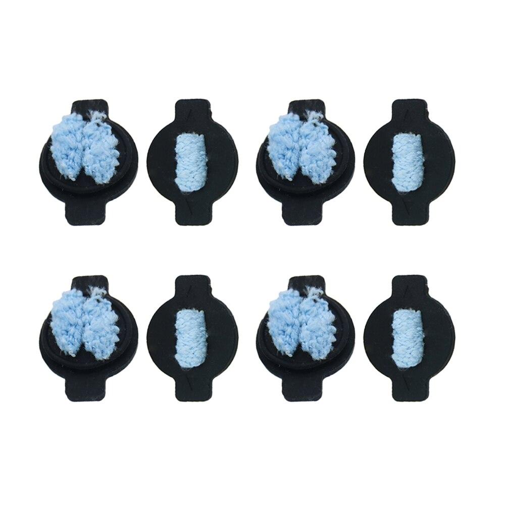 Комплект высококачественных фитилей для воды 8 шт./лот для iRobot Braava 380 380t 320 Mint 4200 4205 5200 5200C, запчасти для робота