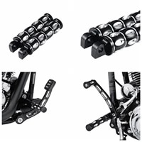 2pcs edge cut style foot pegs for harley davidson street 500 xg500 street 750 xg750 motorcycle footrests foot pegs foot