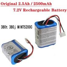 Original 2,5 Ah / 2500 mAh 7,2 V Akku für iRobot Roomba Braava 380 380T Mint 5200 5200c niMH 2500 mAh 7,2 v batterie