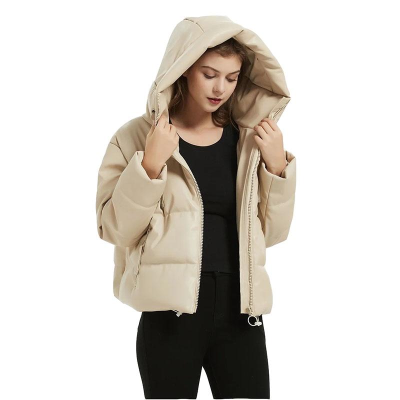 Парка женская утепленная хлопковая куртка 2021 новая зимняя теплая Повседневная Высококачественная Женская хлопковая куртка из искусственн... glissade куртка утепленная женская glissade размер 44