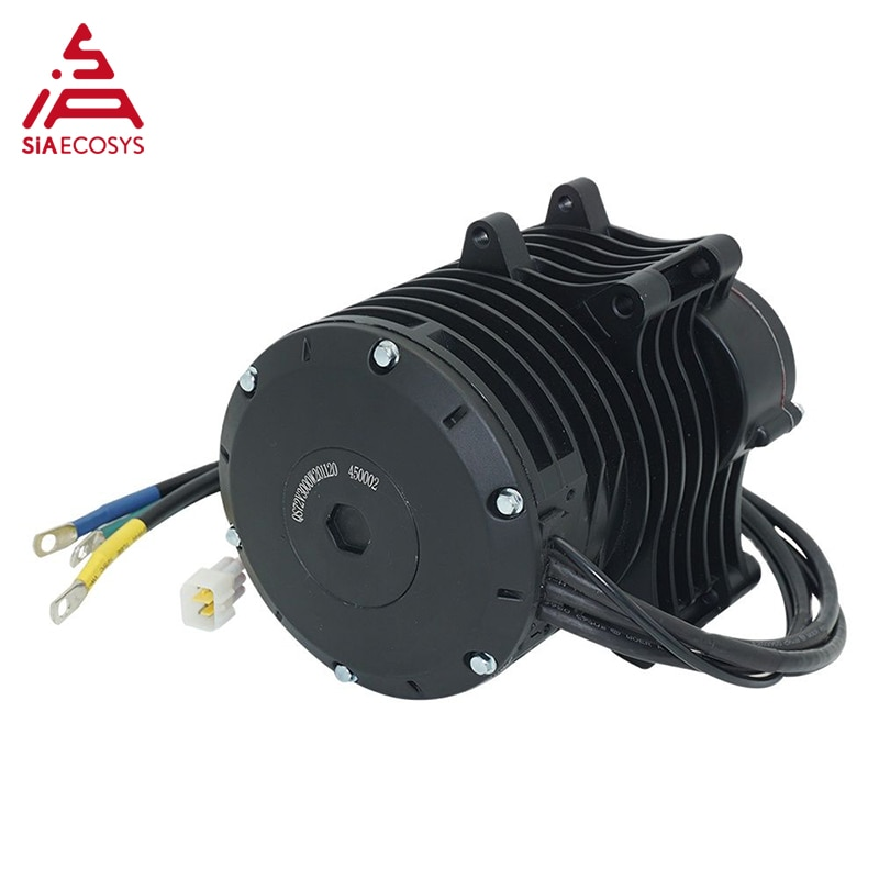 QSMOTOR 138 3000W V3 70H 5500W Max continuous 72V 100KPH Mid drive Motor conversion kit with EM150-2SP Controller enlarge