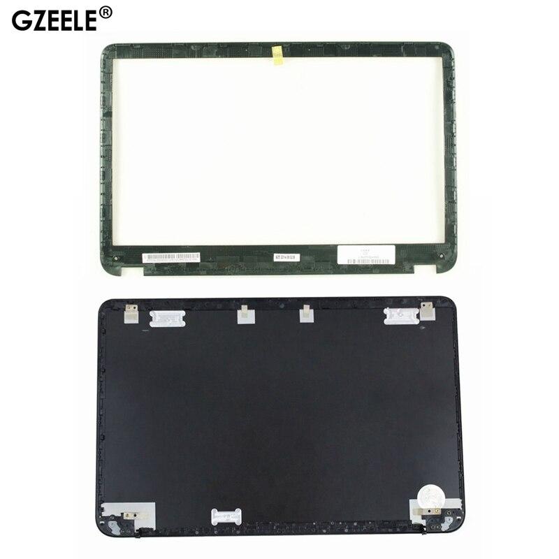 GZEELE новый для HP SleekBook Envy6 Envy6-1000 ЖК-задняя крышка верхняя крышка 686590-001 692382-001 AM0QL000900 ЖК-Передняя панель