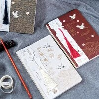 chinese style thousand cranes notebook a5 pink cherry blossom diary notebook 1pcs