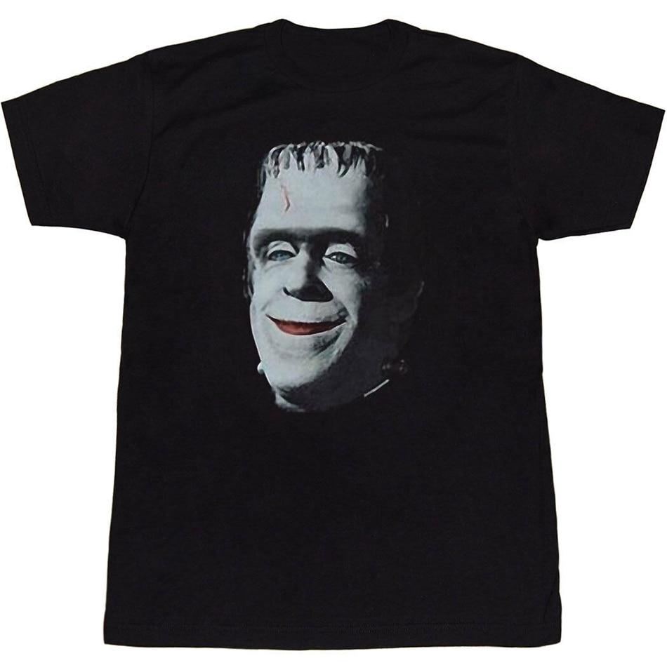 Camiseta Munsters Frankensmile Streetwear Fitness impresa camiseta