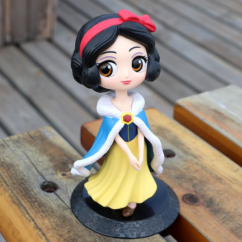 10cm anime fate stay night saber figurine pvc action figure replaceable accessorie model toy birthday gift movie collection Disney 10cm Q version Snow White Princess Action Figure Model Anime Mini Decoration PVC Collection Figurine Toy for kid gift