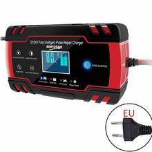 Auto Batterie Ladegerät 100-240V AC Zu 12V 8A/24 V 4A Smart Schnelle Power Lade geeignet Für Auto Motorrad