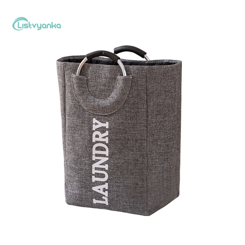 Storage Baskets Laundry Basket Home Folding Organizer Basket Sundries Clothes Storage Bag Home Storage Organization