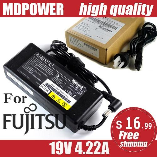MDPOWER для Fujitsu FMV Lifebook AH531 AH550 B6220 B6220, блок питания для ноутбука, адаптер переменного тока, зарядное устройство, шнур 19 в 4.22A 80 Вт