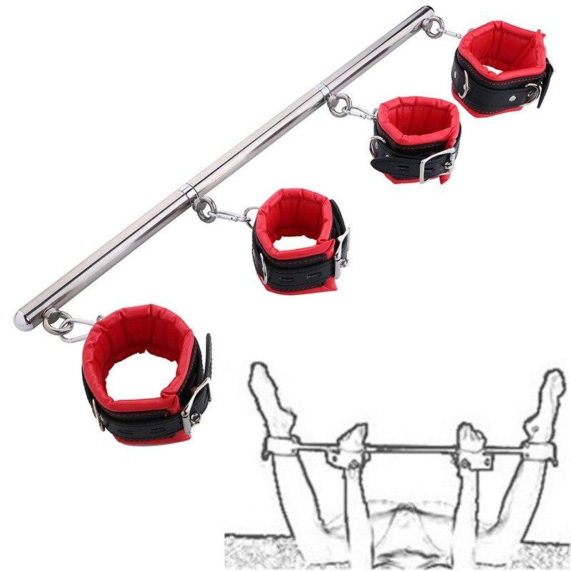 sex-hand-cuffs-ankle-removable-stainless-steel-spreader-bar-bondage-set-adjustable-spreader-bdsm-slave-fetish-restraints-sex-toy