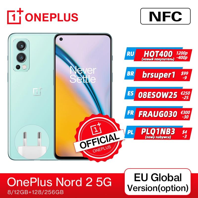 Смартфон-oneplus-nord-2-телефон-со-стандартным-дизайном-память-8-ГБ-128-ГБ-камера-50-МП-с-искусственным-интеллектом-ois-mtk-dimensity-1200-ai-warp-charge-65-код-новы