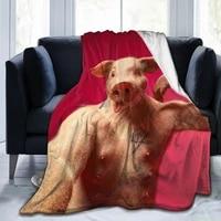 fashion cute 3d printing flannel blanket sheet bedding soft blanket bed cover home textile decoration blanket