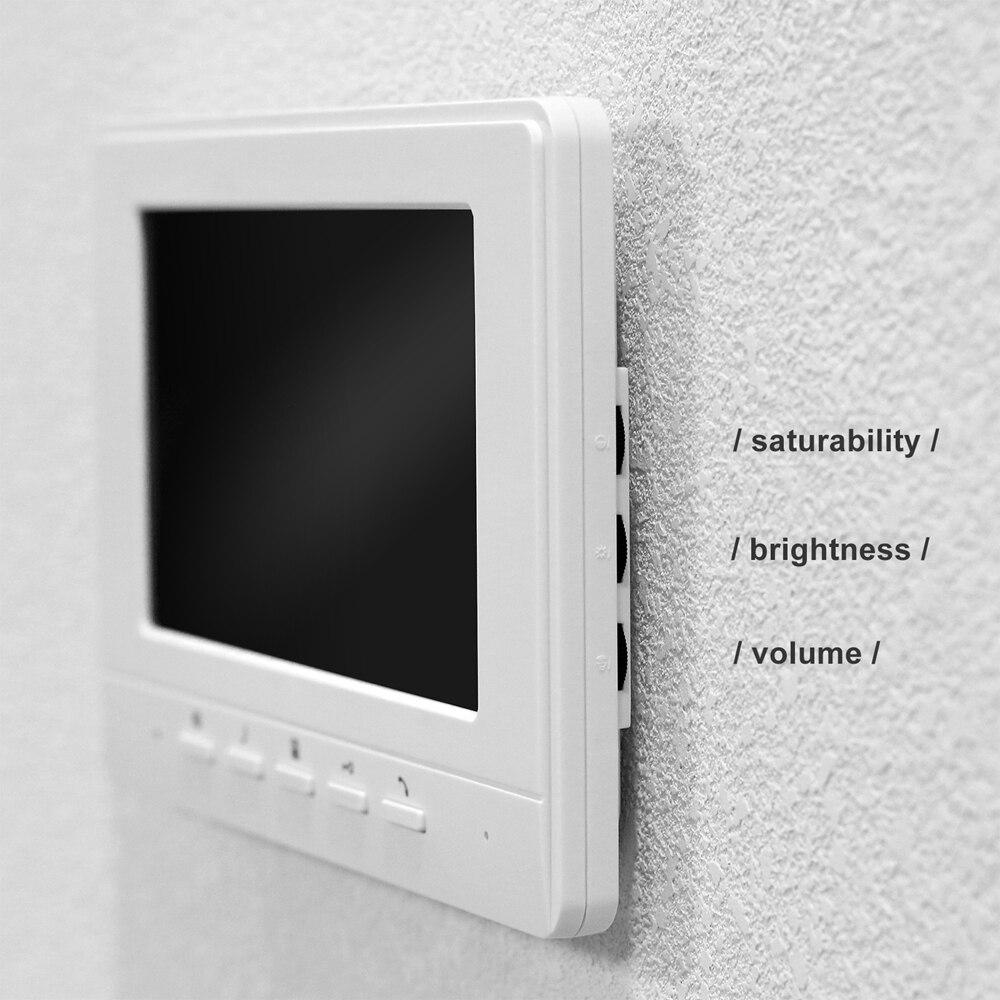 Video Door Phone Video Intercom with Lock Home Electric Lock Access Control Doorbell Camera  Control Door Intercom enlarge