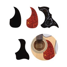 Accesorios de guitarra profesional Drop con forma de pájaro golpeador Folk acústico autoadhesivo pegatina golpeador Placa de rasguño