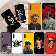 Raper 2pac Tupac DIY malowane Bling etui na telefony dla Xiaomi Mi10 10 pro 10 lite Mi9 9SE 8SE Pocophone F1 Mi8 Lite